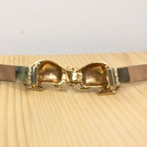 kate spade Accessories - Kate Spade Armadillo Belt Gold Leather Adjustable